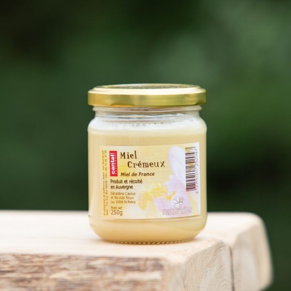 miel crémeux 250g