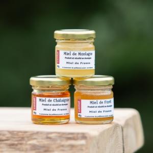 miels de dégustation