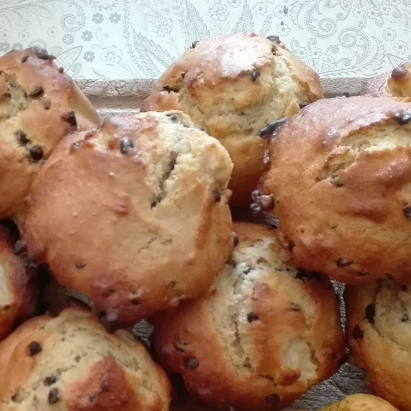 muffin-pomme